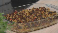 Makaronilaatikko Kari Aihisen tapaan eli Pellinkiläinen makaronilaatikko - Reseptit - MTVuutiset.fi Beef, Chicken, Koti, Lasagna, Meat, Steak, Cubs