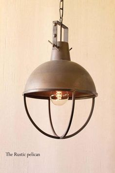 Vintage Industrial Lighting, Rustic Lighting, Modern Lighting, Lighting Ideas, Kitchen Industrial, Industrial Farmhouse, Interior Lighting, Farmhouse Lighting, Rustic Farmhouse Decor