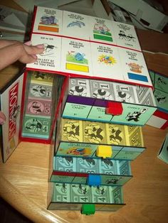 Monopoly Jr. Storage Set: Dresser and Box - CRAFTSTER CRAFT CHALLENGES
