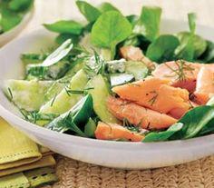 Salmon and Watercress Salad