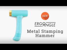 New Ergo Angle stamping hammer designed to leave deep crisp impressions
