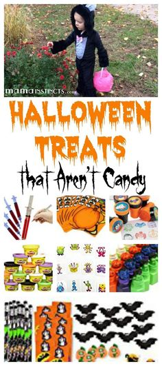 Make this Halloween a fun one but without all the unnecessary sugar. Get these fun and creepy candy alternatives for your trick-or-treaters on Halloween night. Halloween Treats For Kids, Halloween Activities For Kids, Healthy Halloween, Creepy Halloween, Halloween Night, Halloween Themes, Fall Halloween, Halloween Crafts, Happy Halloween