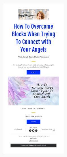Zoom Online, Body And Soul, Connection, Workshop, Mindfulness, Angel, Messages, Atelier, Work Shop Garage