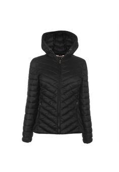 Geci de dama de iarna ieftine: Geaca neagra cu gluga SoulCal Cute Woman, Outerwear Women, Bubbles, Winter Jackets, Stuff To Buy, Black, Fashion, Winter Coats, Moda