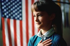 "Pledge of Allegiance every day in school.  Then we'd always sing ""God Bless America""."