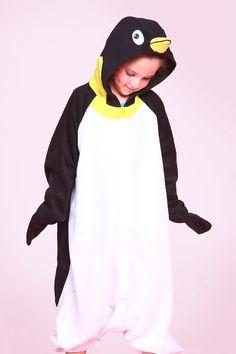 Kids Penguin Onesie Kigurumi Pajamas - 4kigurumi.com  http://www.4kigurumi.com/kids-penguin-onesie-kigurumi-pajamas