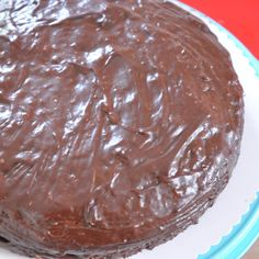 Rezept Schokolade schmelzen für Kuchenglasur von Missy Freckles - Rezept der Kategorie Backen süß