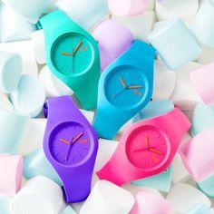 Ice watch Chamallow   Koop jouw Ice-Watch voordelig, veilig en snel op HorlogesStyle.nl http://www.horlogesstyle.nl/ice-watch-horloges #ice #watch #icewatch