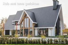 Super home design plans contemporary ideas New Home Designs, Home Design Plans, Style At Home, Modern Brick House, Piscina Interior, House Color Schemes, House Doors, Interior Exterior, Bars For Home