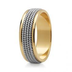 Obrączki ślubne ze złota Stelmach - 066-ST