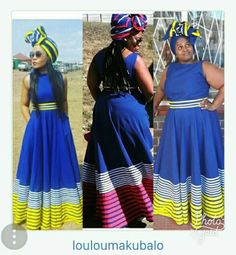Xhosa Attire, African Attire, African Wear, African Women, African Traditional Wedding, African Traditional Dresses, Traditional Fashion, Traditional Outfits, African Print Dresses