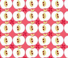 apple fabric by ottomanbrim on Spoonflower - custom fabric