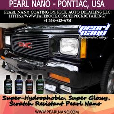 Pearl Nano Coatings - Super Hydrophobic Nano Coatings For Auto Detailers, Performed by Ed Peck, Detailing and Ceramic Coatings. Call Dave today! http://PearlNano.com . Detailer & Private Label Options | 1-866-285-1051 #edpeck #peckautodetailing #pontiacpearlnano #nanocoating #ceramicCoating #USAPearlInstaller