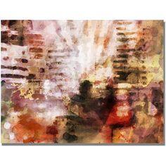 Trademark Fine Art City Impression Canvas Wall Art by Adam Kadmos, Size: 18 x 24, Multicolor