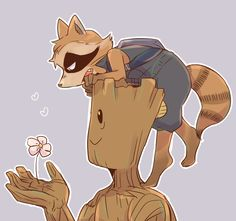 I really love Groot and Rocket