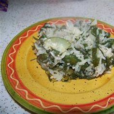 Spinach Rice Casserole Recipe on Yummly. Rice Casserole, Casserole Recipes, Meals Under 200 Calories, Main Dishes, Side Dishes, Spinach Rice, Recipe Directions, Shredded Carrot, Evening Meals
