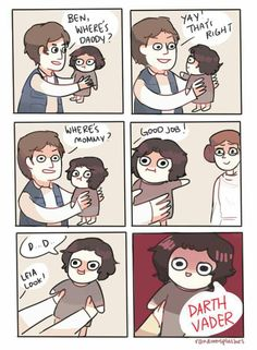 Little Ben Solo, aw the cuteness ♡ Kylo baby Ren