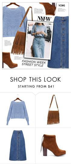 """""""NYFW Street Style: Day One(yoins 7)"""" by meyli-meyli ❤ liked on Polyvore featuring NYFW, yoins, yoinscollection and loveyoins"""
