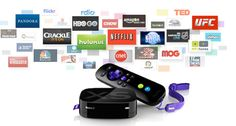 Roku Streaming Player - Easy way to access netflix, pandora, and other channels. Compact, Dedicated, with Remote =)
