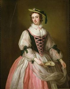 ca. 1745 Frances Macartney, later Greville by George Knapton (private collection) | Grand Ladies | gogm