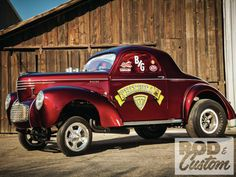 1940 Willys Gasser coupe