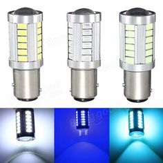 1157 BAY15D 33 5630 LED Brake Turn Signal Rear Light Bulb Car Light