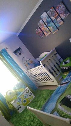 Baby room ideas disney monsters inc 57 Ideas for 2019 Disney Baby Rooms, Disney Baby Nurseries, Disney Themed Nursery, Baby Boy Nurseries, Baby Boy Nursery Themes, Baby Boy Room Decor, Baby Boy Rooms, Nursery Ideas, Baby Boys