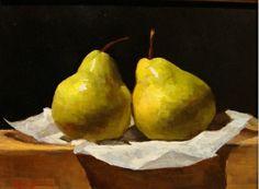 Pintura a óleo sobre tela de Sarah K. Lamb
