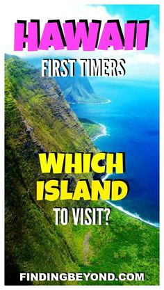 Are you about to visit Hawaii for the first time but not sure where to go? Read this handy little guide that breaks down the best island options. hawaii, Which Hawaii Island to Visit for First Timers Hawaii Travel Guide, Usa Travel Guide, Travel Usa, Travel Tips, Hawaii Vacation Tips, Travel Hacks, Italy Vacation, Trips To Hawaii, Travel Ideas