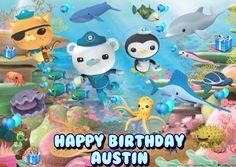 Octonauts Edible Frosting Sheet Image Decoration -- Check out the image by visiting the link.