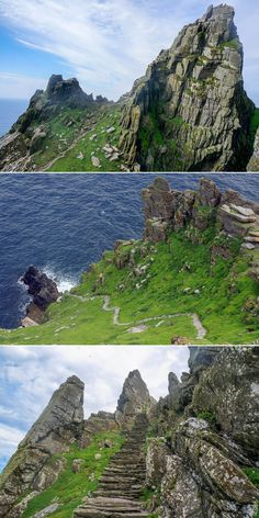 How to take a boat off the coast of Kerry to arrive in the secluded Island