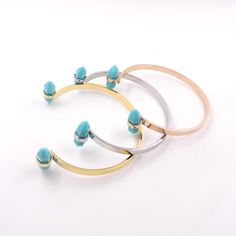 Find More Charm Bracelets Information about New Natural Stone White Green Tophus Turquoise pulseirasBanglesstainless steel femme For Women Summer Fine Jewelry Wholesale,High Quality steel fabrication,China steel kettle Suppliers, Cheap steel anklet from JINHUI on Aliexpress.com
