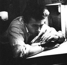 James Dean, photographed by Roy Schatt.