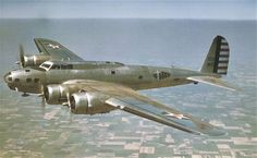 Boeing YB-17C, Flying Fortress, heavy bomber, 1937. . .