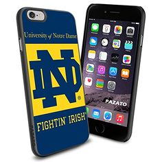 NCAA UNIVERSITY OF NOTRE DAME ND Cool iPhone 6 Case Collector iPhone TPU Rubber Case Black Phoneaholic http://www.amazon.com/dp/B00SRRV7HS/ref=cm_sw_r_pi_dp_Vcjnvb0DYJJS8