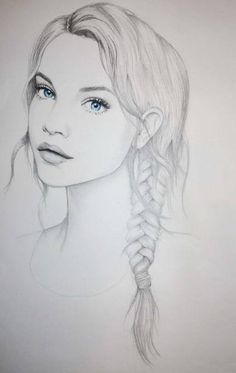 barbara palvin, blue eyes, drawing, fashion illustration - inspiring picture on… Amazing Drawings, Beautiful Drawings, Cool Drawings, Amazing Art, Drawings Of Girls Faces, Drawings Of People, Pretty Drawings, Awesome, Inspiration Art