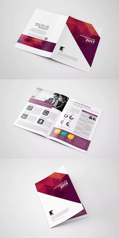 bifold brochure template ai indd