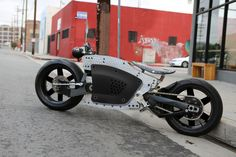 Valetta Electric Motorcycles by Roman Yneges at Coroflot.com