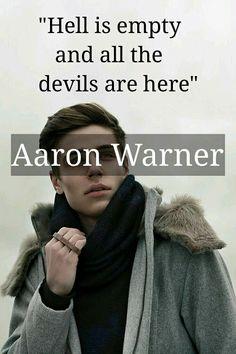 Shatter me/Aaron Warner