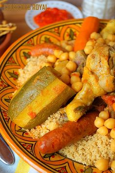 Moroccan Couscous, Algerian Recipes, Bengali Food, Couscous Recipes, Salty Foods, Quick Healthy Breakfast, Warm Food, My Best Recipe, Food Videos