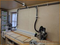 Absaugung Teil 2 – Absperrschieber und Rohrleitung | The Bavarian Woodworker
