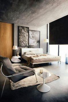Beautiful mid-century inspired bedroom