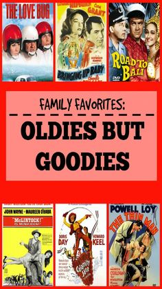7 of the old classics you should watch with your family. (Includes links of where to watch/find each one!) #movienight #familytime #cleanflix