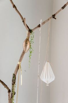 """This natural decoration idea is from our feature """"Gifts from Nature"""""""