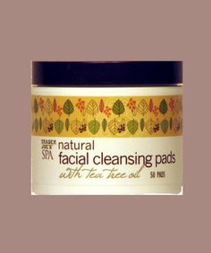 Trader Joes Spa Natural Face Cleansing Wipes