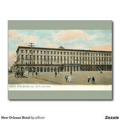 New Orleans Hotel Postcard