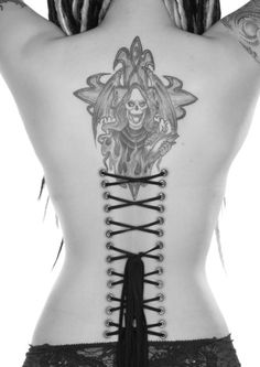 Frauen T Shirt 3 Farbtöne Sensemann Totenkopf Gothik-/&Tattoodruck Grim Reaper