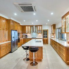 Beautiful Kitchen on a rural property just outside Rockhampton, Central Queensland, Australia. Built by Hooper Constructions.