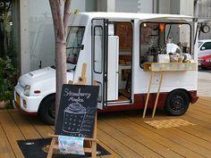Blue Bird Cafe, mobile coffee shop • Hiroshima, Japan