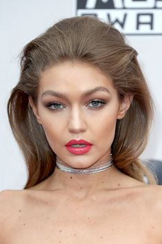 Model Gigi Hadid attends the 2016 American Music Awards.